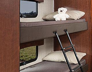 ROOMY BUNK BEDS (40G)