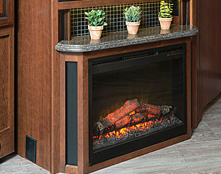 ELECTRIC FIREPLACE (38F, 38K)