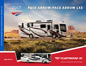 2017 Pace Arrow/Pace Arrow LXE brochure thumb