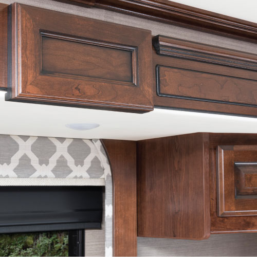 Hard Wood Cabinets