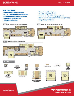 Fleetwood Rv Brochures Class A And C. Wiring. 2006 Fleetwood Bounder Motorhome Schematic At Scoala.co