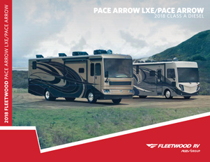 2018 PACE ARROW LXE/PACE ARROW brochure thumb