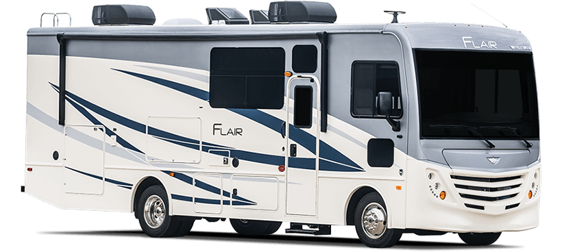 Best Motorhomes Class A Gas Motorhomes Fleetwood Flair Rv