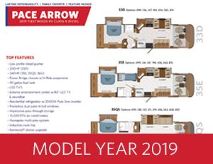 2019 PACE ARROW brochure thumb