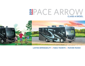2019 Pace Arrow brochure thumb