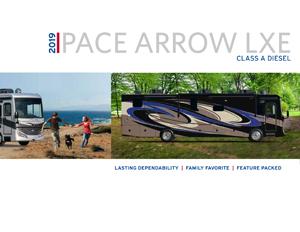 2019 Pace Arrow LXE Brochure brochure thumb